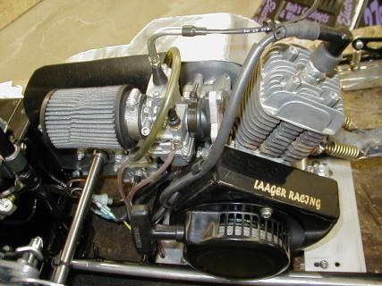 Modified Suzuki Engine